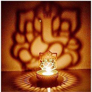 Ganesh Tealight Candle