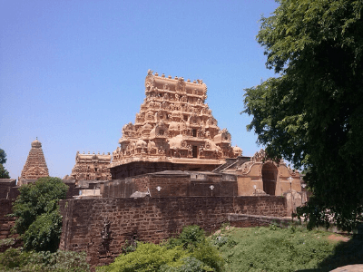 South India Hindu Temple