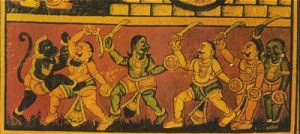 Hanuman_Fights_King_Rawana's_Army