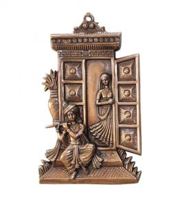 Hand Crafted Radha Krishna